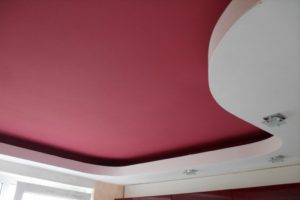 Потолок под покраску